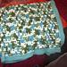 Crochet Windowpane Baby Blanket pattern