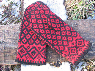 Mittens from Halland