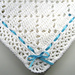 Diamond Lace Baby Afghan pattern