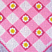 Gingham Daisy Baby Afghan pattern