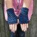 Chunky Merino and Cashmere Fingerless Mittens pattern