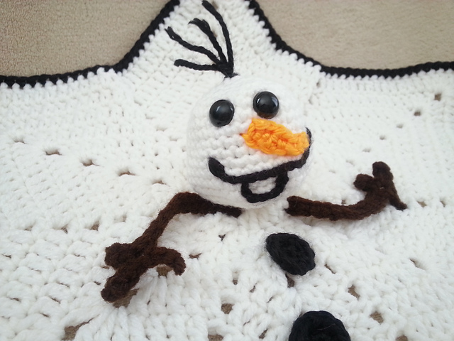 Tiny Baby Snowman Free Crochet Pattern (With images) | Christmas ... | 480x640