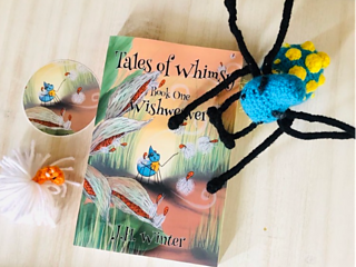 """""""With beautiful illustrations, Winter spins a whimsical adventure full of heart, friendships, and a lesson in acceptance and selflessness."""" - New York Times bestselling author of the Library Jumpers series, Brenda Drake."""