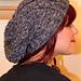 Vertical Vines Slouch Hat pattern