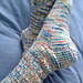 Ribs and Lace Socks pattern