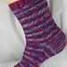 Dashing Duos Sock pattern