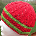 Hat #8 Open Rib Twist pattern