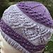 Hat #19 Lace Diamonds pattern