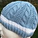 Hat #31 Cable Gingerbread pattern