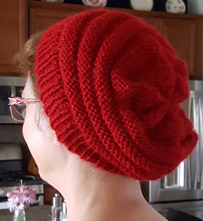 Ravelry: sweet & simple slouchy knit beret pattern by ...