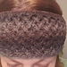 Criss Cross Head Wrap pattern