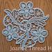 Romanian Point Lace Doily - Intermediate Tutorial pattern