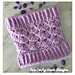 Lilac Cluster Cowl pattern
