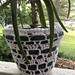 Flower Lace Planter Covers pattern