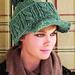 Brimmed Pompom Hat pattern