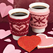 Happy Couple Cup Snuggies pattern