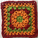 Pumpkin Patch Square pattern