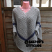 What a Waffle Sleeved Poncho pattern