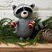 Raccoon Ornament pattern
