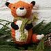 Fox Ornament pattern