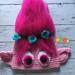 Poppy troll hat pattern