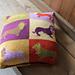 Sausage Dog Cushion Cover pattern