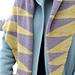Lambda Shawl pattern