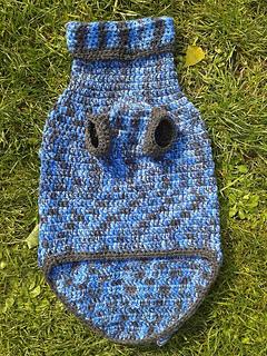 ravelry hundepullover gehaekelt dog sweater pattern