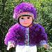 "Fuzzy Wuzzy 18"" Doll Jacket and Hat pattern"