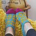 Fair Isle Slippers pattern