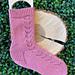 Socks for Martine pattern