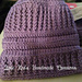 Becky's Messy Bun Hat pattern
