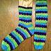 Blurred Lines Socks pattern