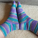 Spacious OMG Heel Socks pattern