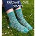 Radiant Love Socks pattern