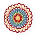 Picaresque Poppy Mandala pattern