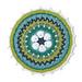 African Flower Mandala pattern