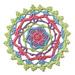 Cartwheels Mandala pattern