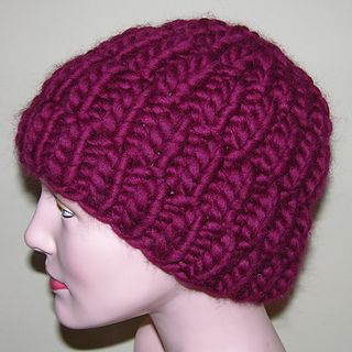 Ravelry: Super Bulky Rib Hat pattern by Jill Bujold