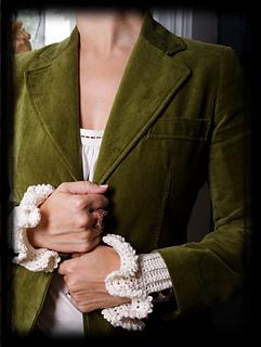 victorian cuffs...
