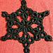 Cro-Tat Snowflake Coaster pattern