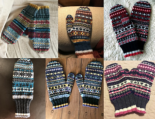 And even more MKAL mittens