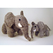 Elephants (3 sizes) and woolly woolly mammoth pattern