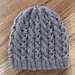 Cables and Lace Hat pattern