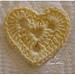 Aplicaçao de Croche Coração pattern