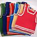 Colorful Trim Vest pattern