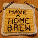 Home Brew Beer Coaster pattern