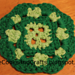 Clover Coaster pattern