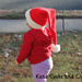 Santa Baby Long Stocking Cap pattern
