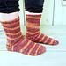 Acton Socks pattern